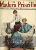 April 1917 issue of The Modern Priscilla   cover and first few pages