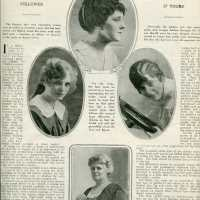 Summer 1917 Hair Styles - and the last of the April 1917 scans