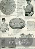 Filet Crochet Patterns and the Back Pages from the July 1917 issue of The Modern Priscilla Magazine