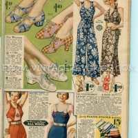 1935 Wool Bathing Suits, Women's Sportswear, and Mens' Underwear...