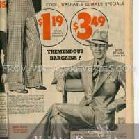 1935 Boys and Mens Fashions - hats, suits, shirts, pants...