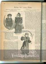 1890s Childrens Fashions   styles for boys and girls