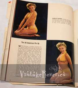 Marilyn Monroe   the All American Pinup, and more advertising history