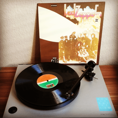 Led Zeppelin - II auf Vinyl