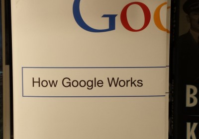 A picture of the Google book.