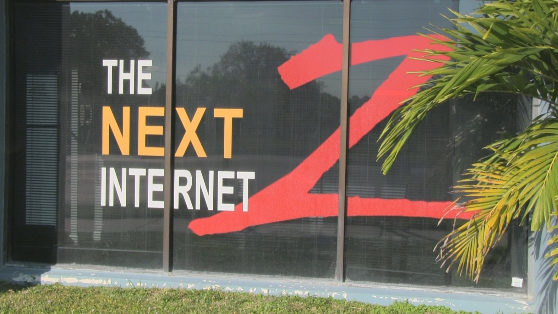 A picture of the entrance to ITS Fiber's business office.