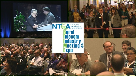 A collage of photos from NTCA's 2015 RTIME.