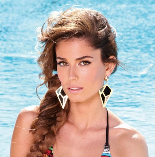 Lupe fuentes latina lingerie model