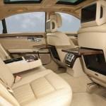 Mercedes-Benz W221 S500 салон