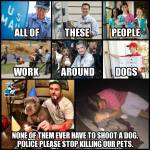 cops and dogs meme