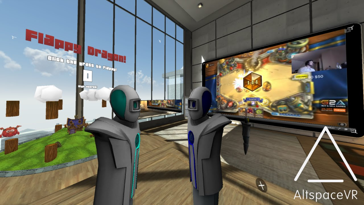 VReal and Altspace demos at SVVR bring VR education one step closer