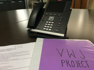 September 25, 2015; Although in-person interviews are preferred, phone interviews have been the initial way to get in contact with story prospects.
