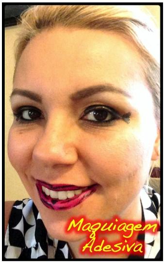Maquiagem Adesiva