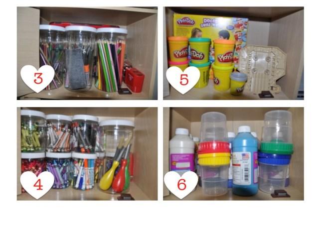 Organização de crafts