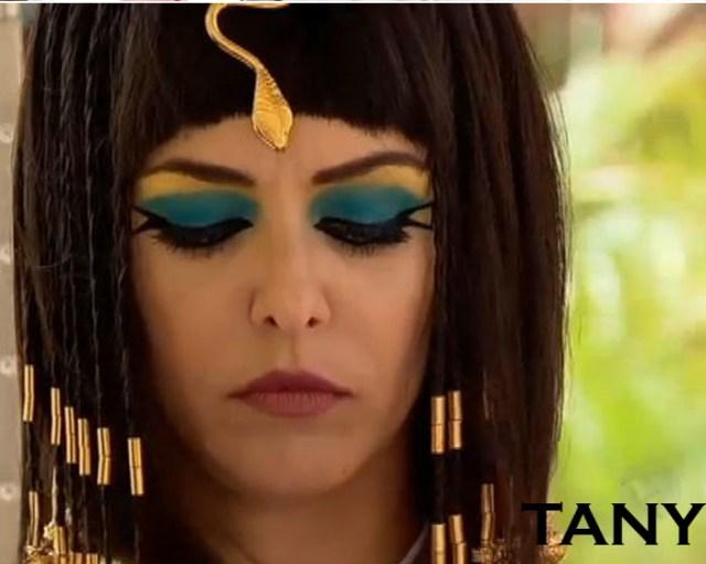 Personagem Tany, interpretada lela atriz Bianca Rinaldi.