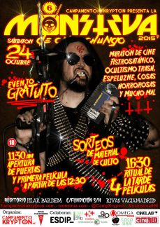 Monstrua de Cine Chungo 2015 Monstrua666 Rivas