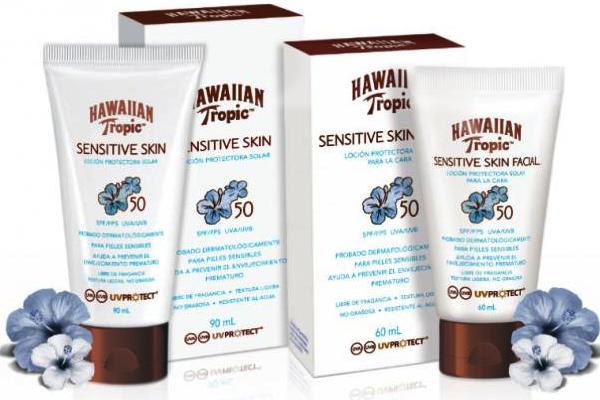 HAWAIIAN TROPIC SENSITIVE SKIN1