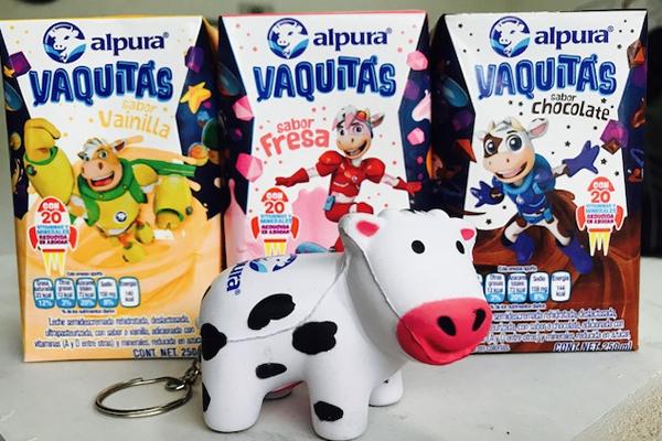 VAQUITAS ALPURA PRESENTE EN EL REGRESO A CLASES