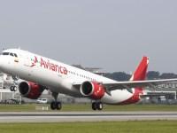 AIRBUS ENTREGA AVIÓN A321NEO A AVIANCA1