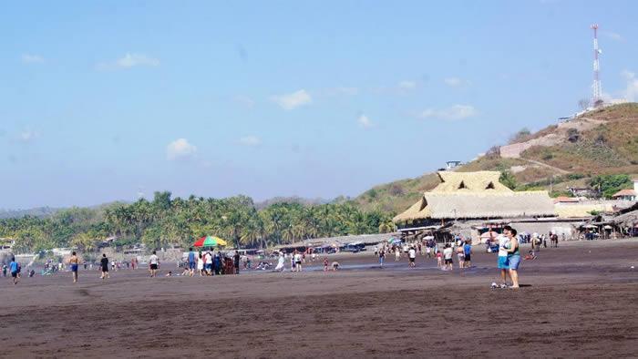 Playa el Majahual el salvador