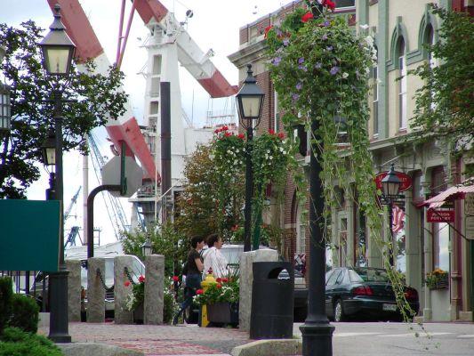 Downtown Bath Maine
