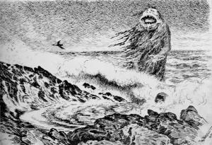 DraugenTheodor_Kittelsen_-_Sjøtrollet,_1887