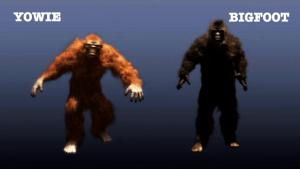 YowieVsBigfoot