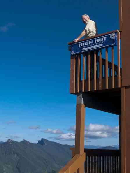 At High Hut © Ed Book