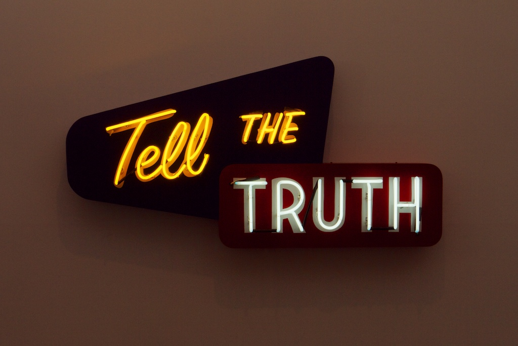Telling the truth essay