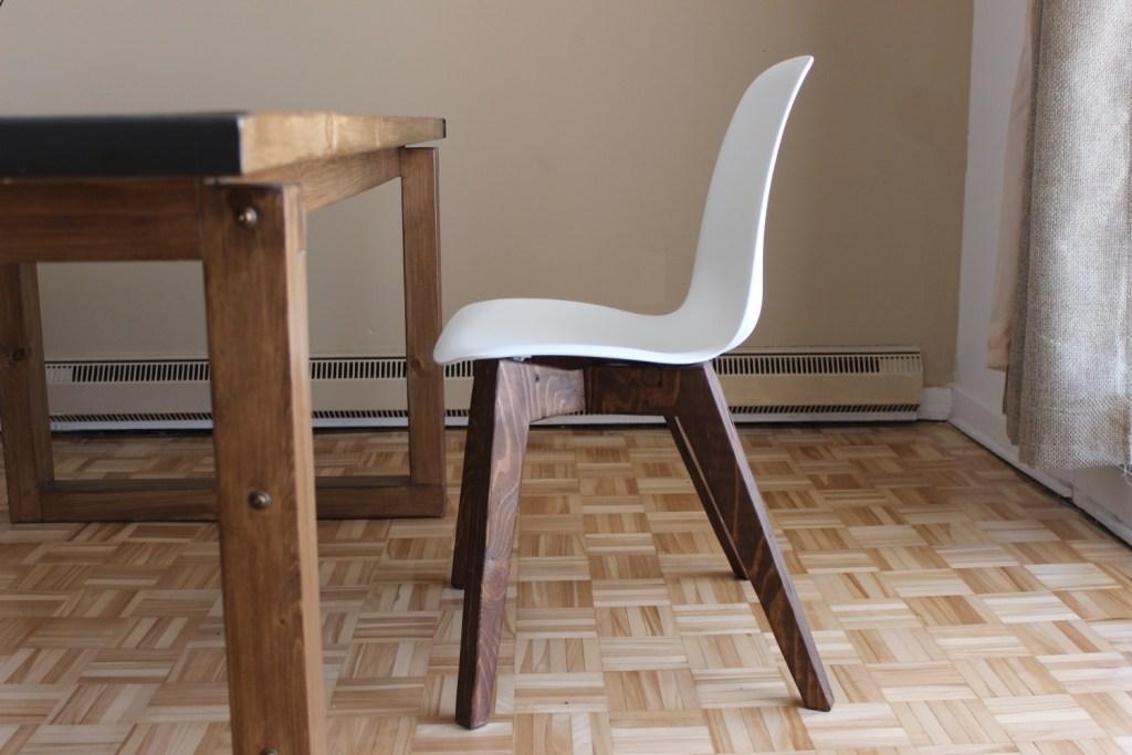 comment fabriquer une chaise scandinave ep15