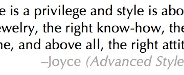 Advanced Style Quote