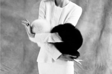 Suzie Bird: 50s Lady in Waiting - Elle US photographed by Thomas Whiteside, January 2012