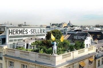 Hermes on rue de Faubourg Saint-Honoré