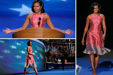Michelle Obama at the National Democratic Convention