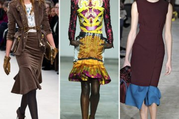 Fit to Flare Trend: Burberry, Mary Katrantzou, Roksanda Ilincic