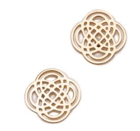 2. Ginette NY Infinity Stud Earrings