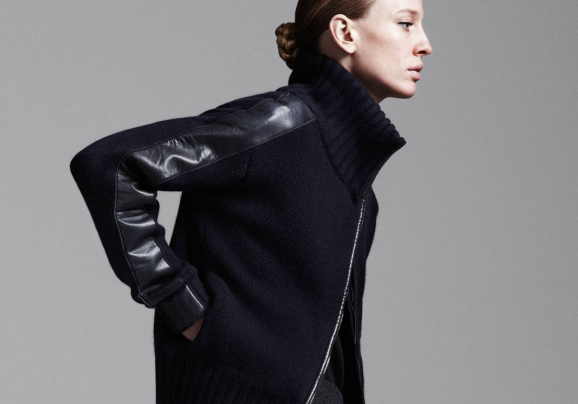Reed Krakoff's Zip-Front Sweater Story on theline.com