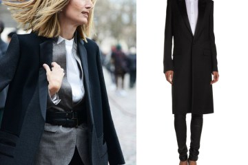 The Straight Coat Trend