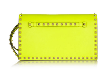 1. Valentino Rockstud Leather Clutch