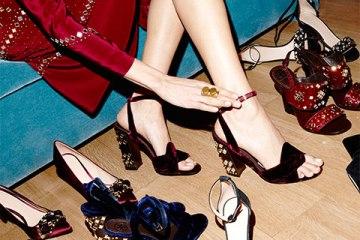 Holiday Embellished Heels