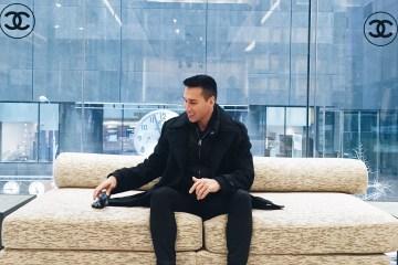 Jesse Garza at Chanel