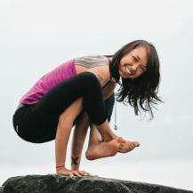 Semperviva Yoga graphic design