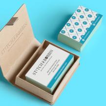 Stitch & Bobbin branding and design