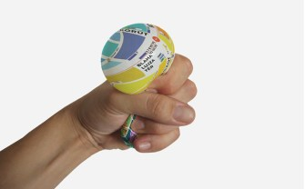 This Stress Ball Gives You Directions