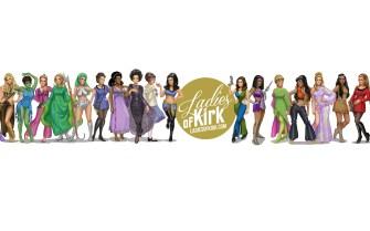 Trekkie Alert: Illustrator Draws Every Woman Captain Kirk Kissed