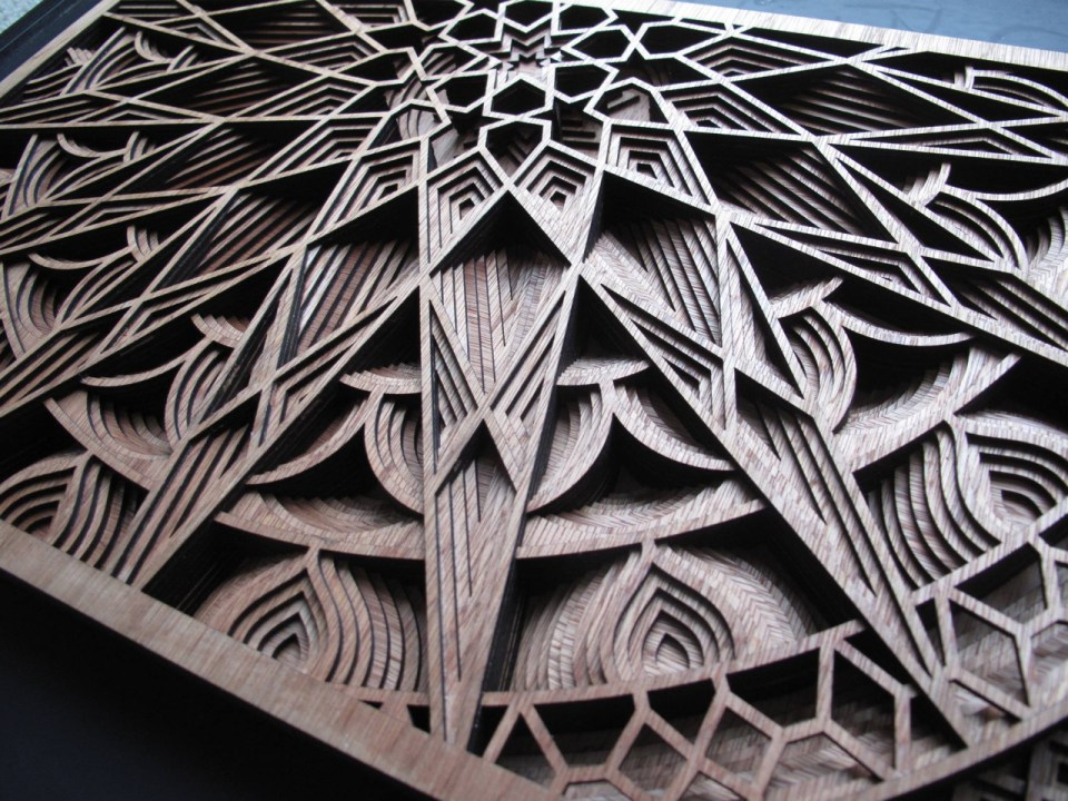 Gabriel Schama laser cut artworks 6