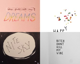Designer Illustrates 100 Song Lyrics to Get Over Her Breakup