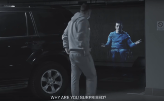 In This Mall, Holographic Disabled People Appear If You Try To Park In Their Space