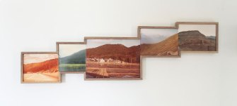 Fictional Landscapes Created from Old Flea Market Photos