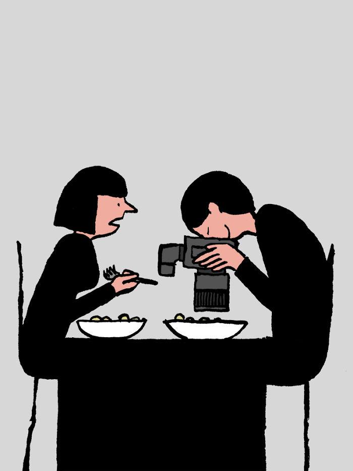 Jean Jullien tech addiction 9